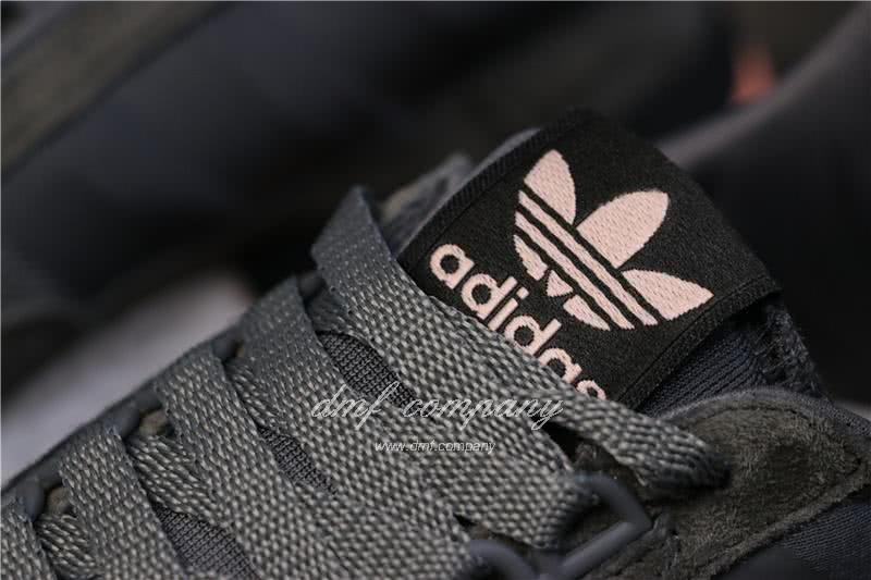 Adidas ZX500 RM Boost Black White And Pink Men And Women 7