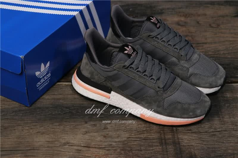 Adidas ZX500 RM Boost Black White And Pink Men And Women 8