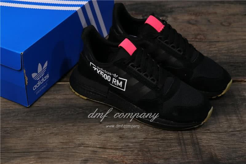 Adidas ZX500 RM Boost Black And Red Men And Women 8
