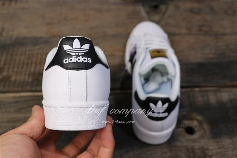 Adidas Originals Superstar White/Black Men/Women 4