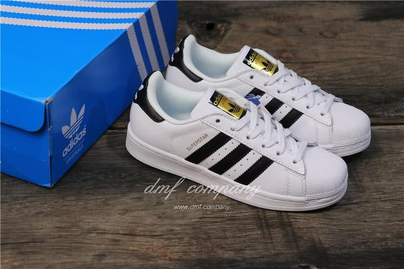 Adidas Originals Superstar White/Black Men/Women 6