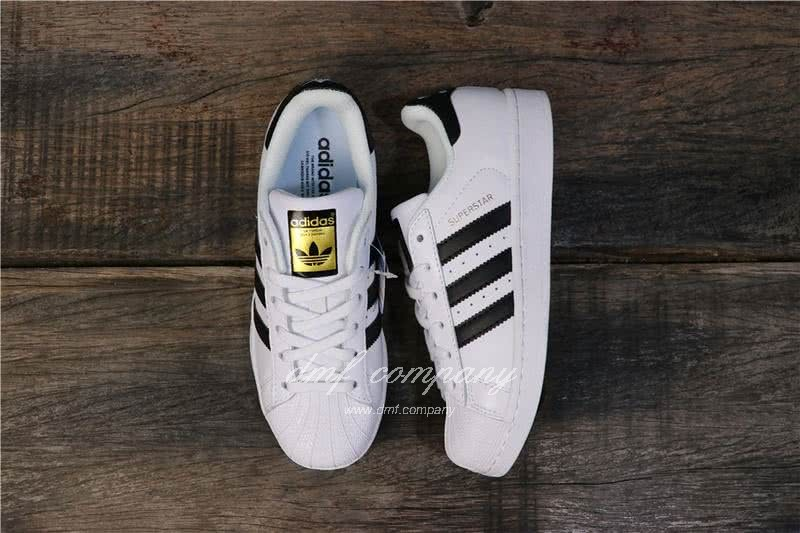 Adidas Originals Superstar White/Black Men/Women 7
