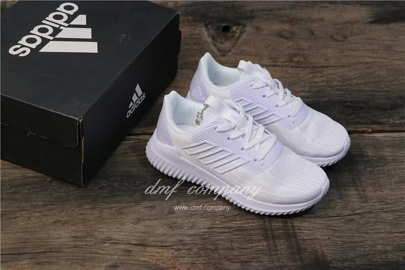 Adidas Climacool Vent C  Kids  All White 5