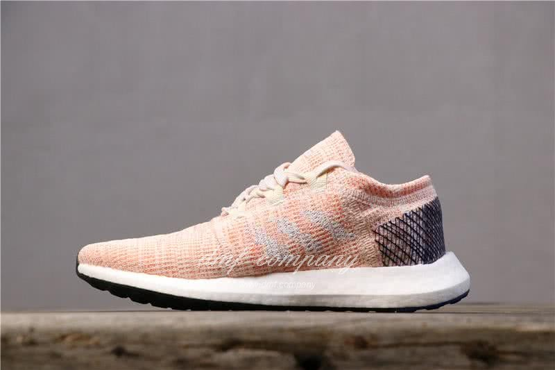 adidas Pure Boost Pink Women Shoes 2