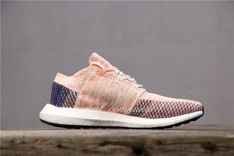 adidas Pure Boost Pink Women Shoes 3