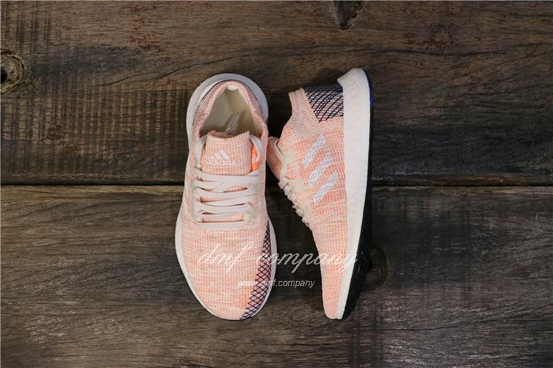 adidas Pure Boost Pink Women Shoes 1