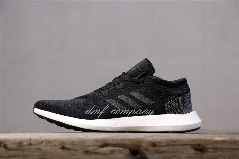 adidas Pure Boost Black Men Women Shoes 2