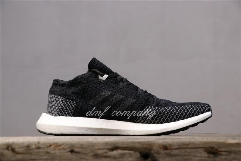 adidas Pure Boost Black Men Women Shoes 3