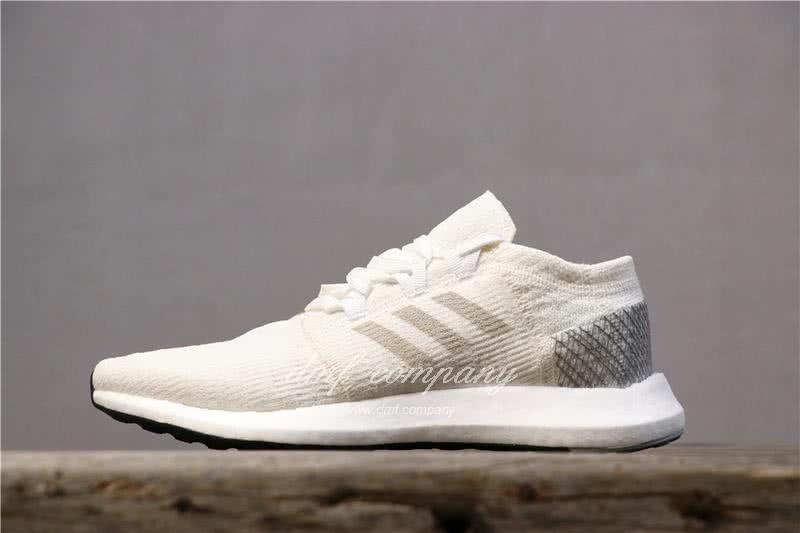 Adidas  Pure Boost AH2321 Men/Women White/Grey 4
