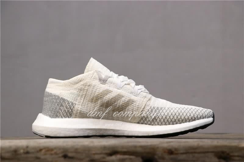 Adidas Pure Boost Men White Shoes 3