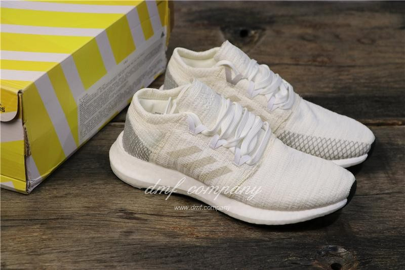 Adidas Pure Boost Men White Shoes 8