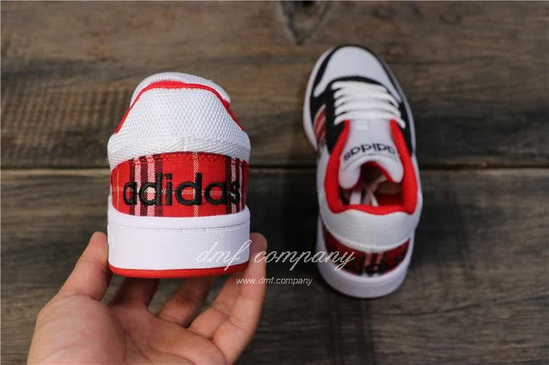 Adidas NEO Black and Red Men/Women 4