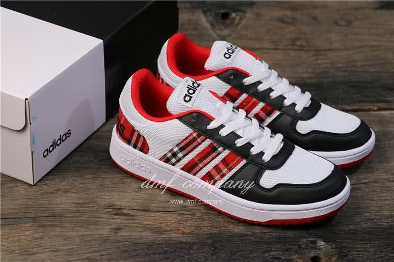 Adidas NEO Black and Red Men/Women 6
