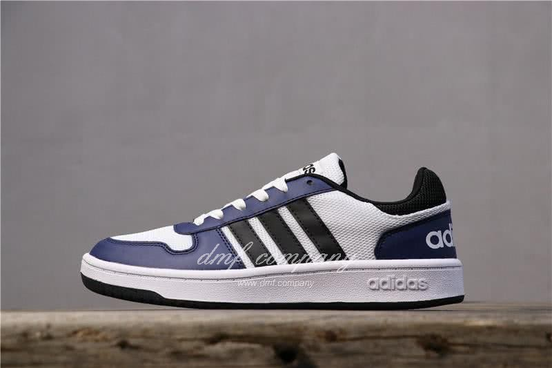 Adidas NEO Black and Blue Men/Women 1