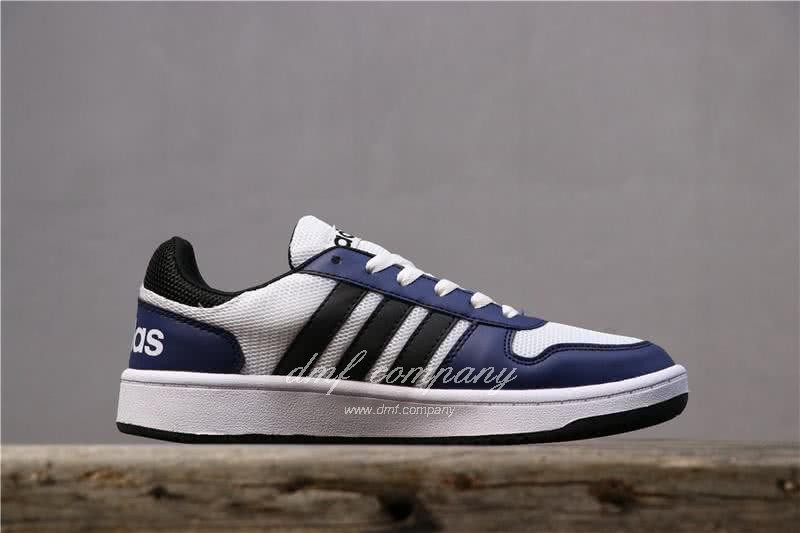 Adidas NEO Black and Blue Men/Women 3