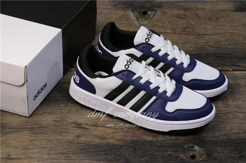 Adidas NEO Black and Blue Men/Women 7