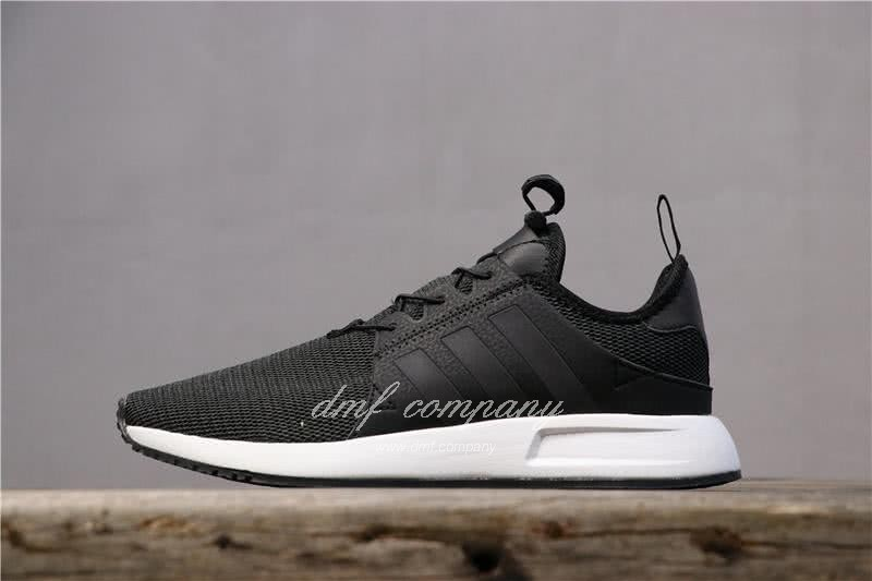 Adidas PW Human Race NMD Black Upper And White Sole Men And Women 1