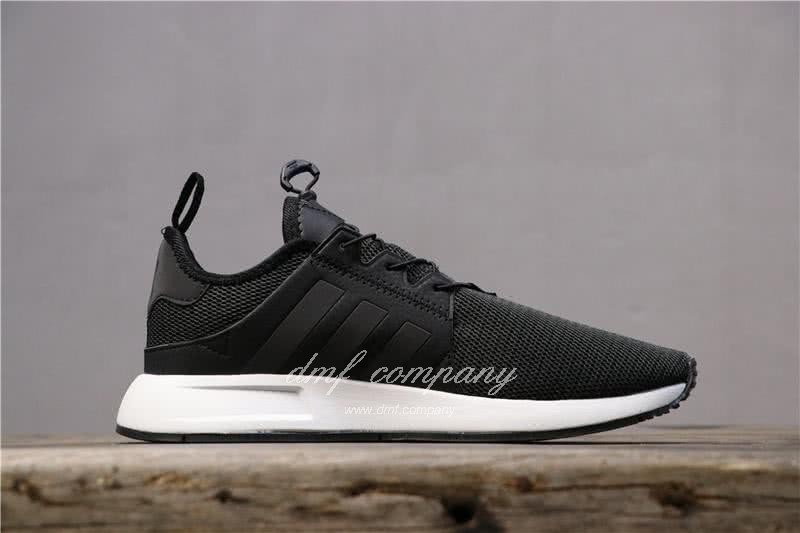 Adidas PW Human Race NMD Black Upper And White Sole Men And Women 2