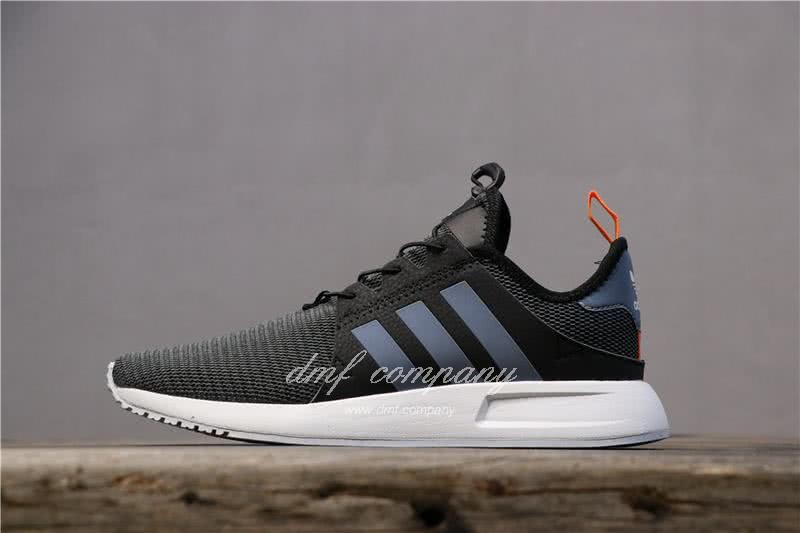 Adidas PW Human Race NMD Black Grey Upper White Sole Men And Women 1