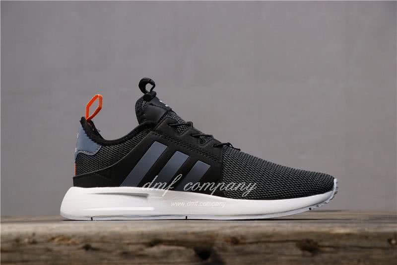 Adidas PW Human Race NMD Black Grey Upper White Sole Men And Women 2