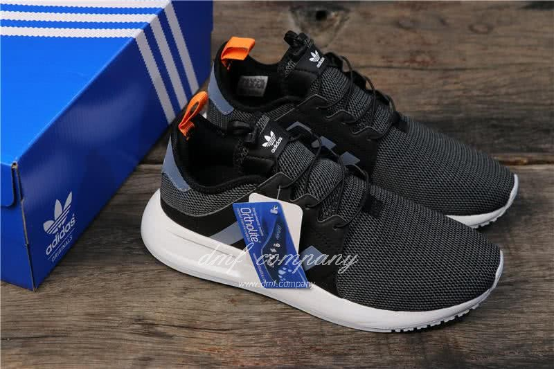 Adidas PW Human Race NMD Black Grey Upper White Sole Men And Women 7