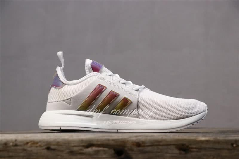 Adidas PW Human Race NMD White Pink And Black Men And Women 2