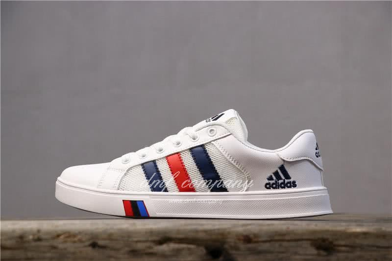 Adidas NEO White/Black/Red Men/Women 1