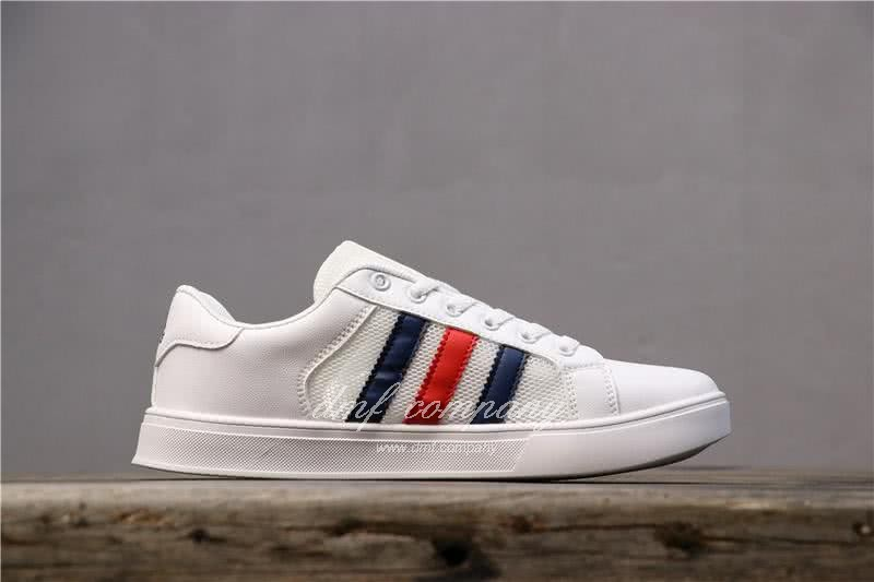 Adidas NEO White/Black/Red Men/Women 2