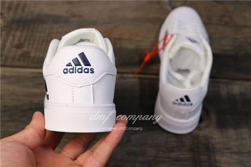 Adidas NEO White/Black/Red Men/Women 4