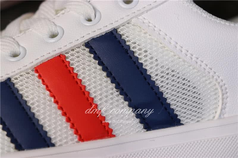 Adidas NEO White/Black/Red Men/Women 6