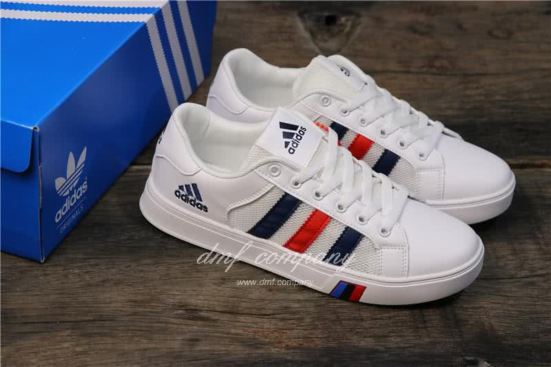 Adidas NEO White/Black/Red Men/Women 7