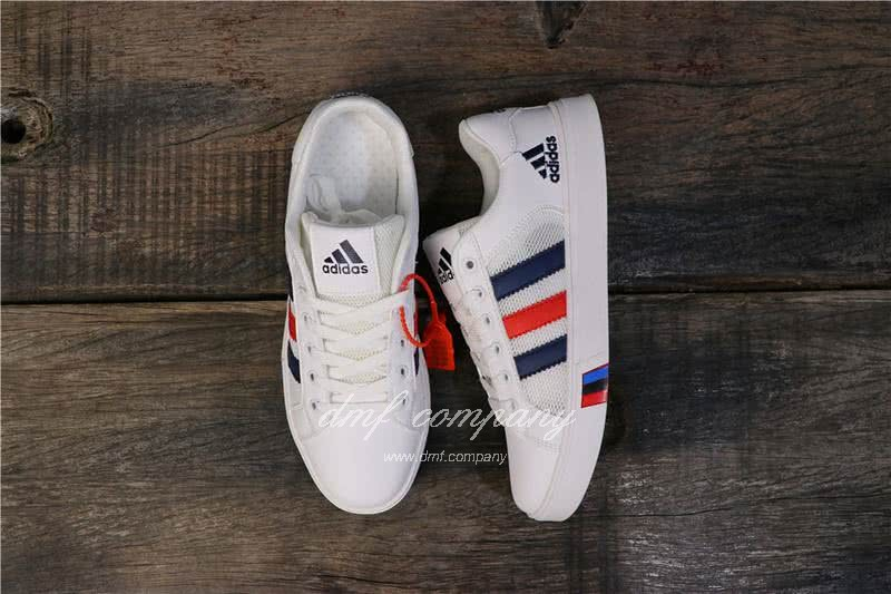 Adidas NEO White/Black/Red Men/Women 8
