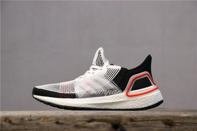 Adidas Ultra BOOST 19W UB19 Men Women Black White Red Shoes 2