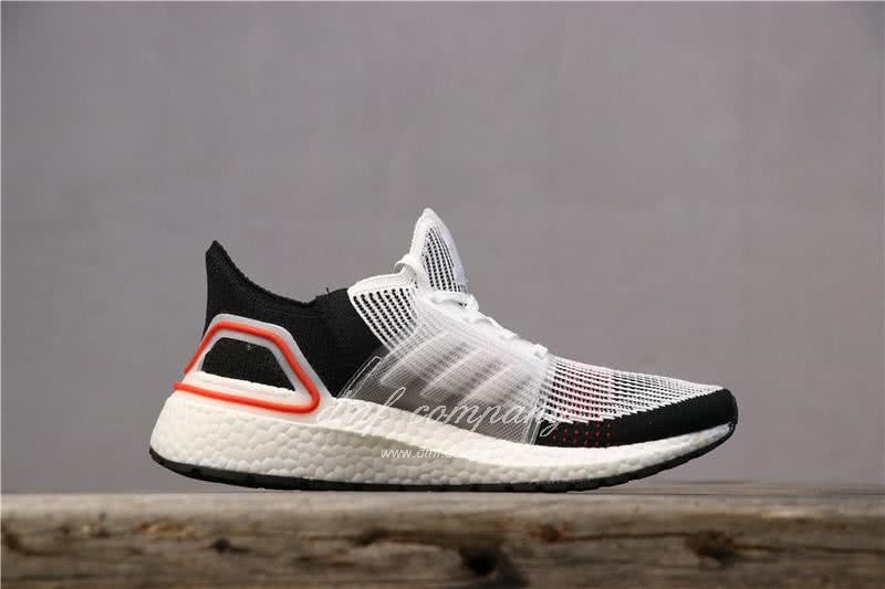 Adidas Ultra BOOST 19W UB19 Men Women Black White Red Shoes 3