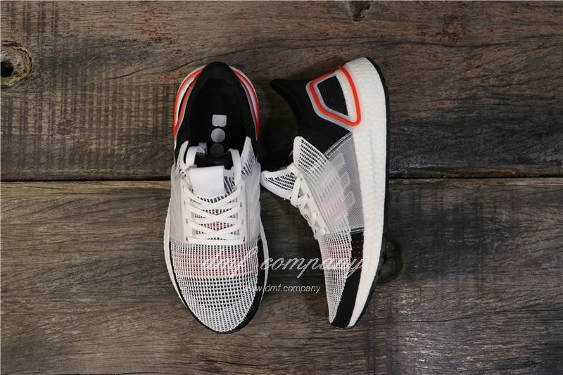 Adidas Ultra BOOST 19W UB19 Men Women Black White Red Shoes 1