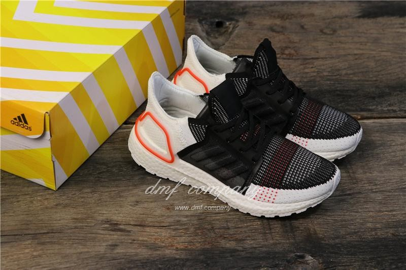 Adidas Ultra BOOST 19W UB19 Men Women White Black Red Shoes 8