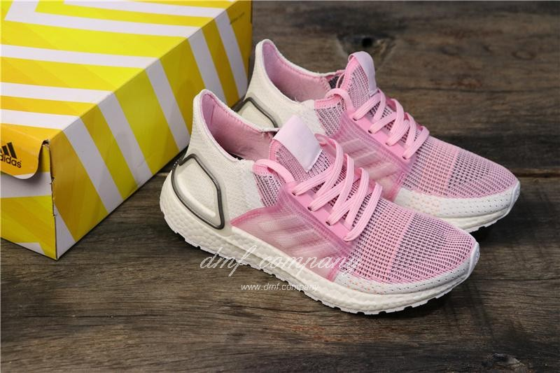 Adidas Ultra BOOST 19W UB19 Women Pink Shoes  8