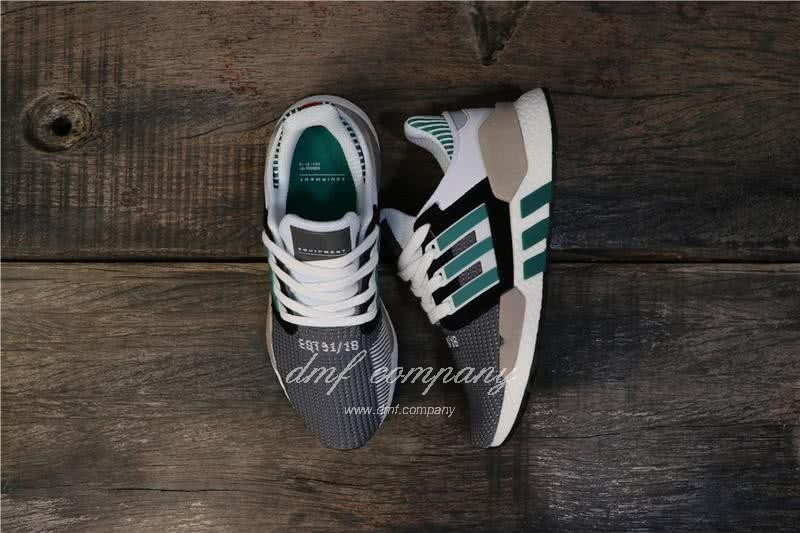 Adidas Eqt Bask Adv Grey White Black And Green Men And Women 8