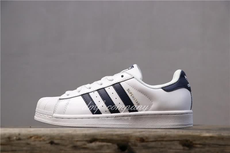 Adidas Originals Superstar White/Blue Men/Women 1