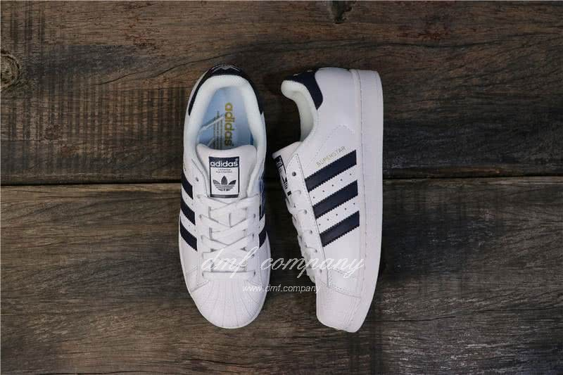 Adidas Originals Superstar White/Blue Men/Women 6