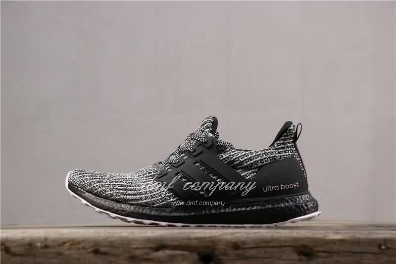 Adidas Ultra Boost 4.0 Men Women Black White Shoes 2