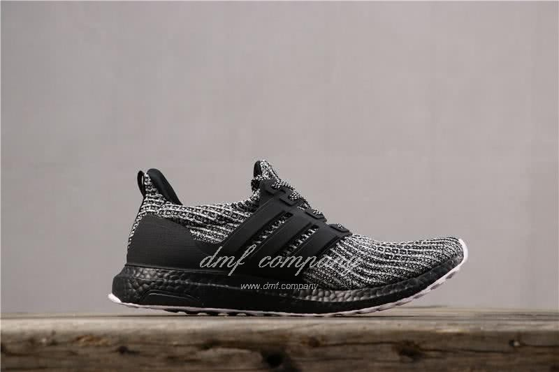 Adidas Ultra Boost 4.0 Men Women Black White Shoes 3