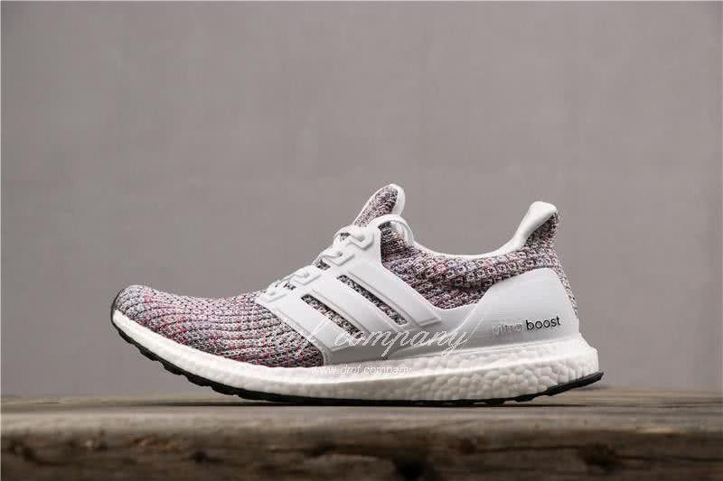 Adidas Ultra Boost 3.0 BB6172 Men/Women White/Colorful 3