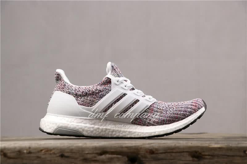 Adidas Ultra Boost 3.0 BB6172 Men/Women White/Colorful 4