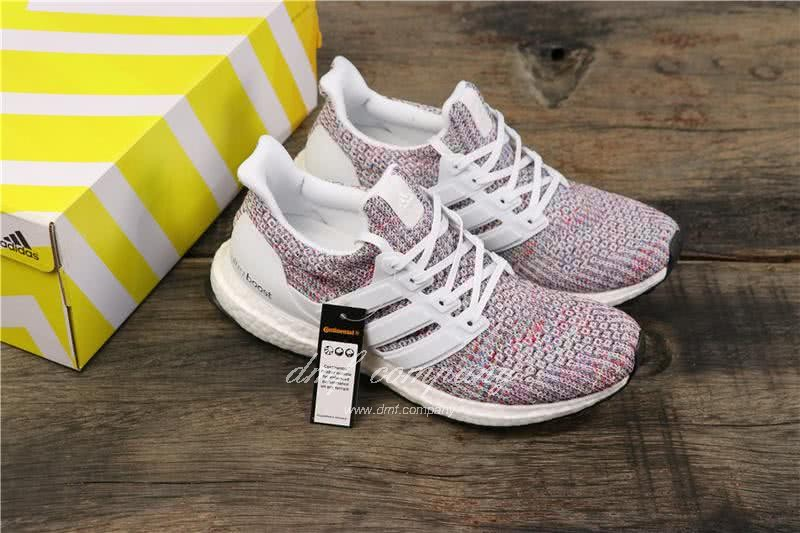 Adidas Ultra Boost 3.0 BB6172 Men/Women White/Colorful 1
