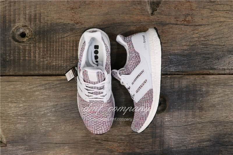 Adidas Ultra Boost 3.0 BB6172 Men/Women White/Colorful 8