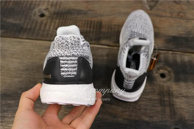 Adidas Ultra Boost 3.0 Men Women Black White Shoes 5