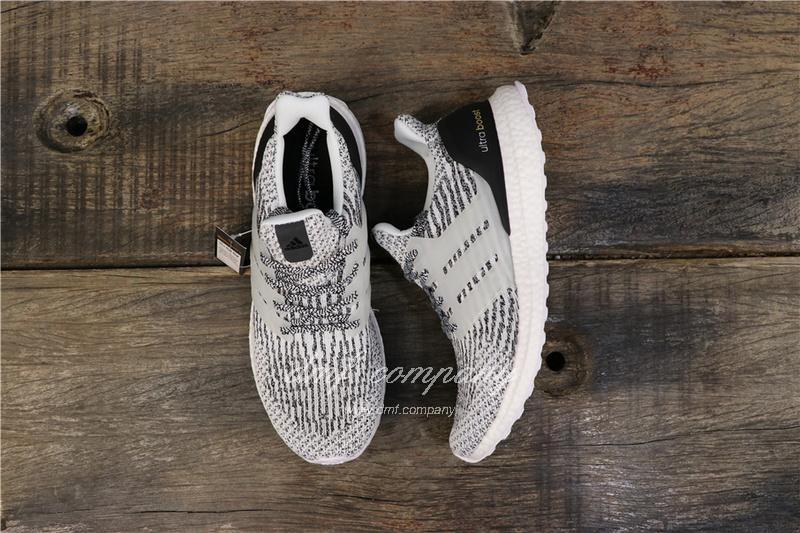 Adidas Ultra Boost 3.0 Men Women Black White Shoes 1