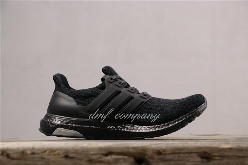 Adidas Ultra Boost 3.0 Men Women Black Shoes 3