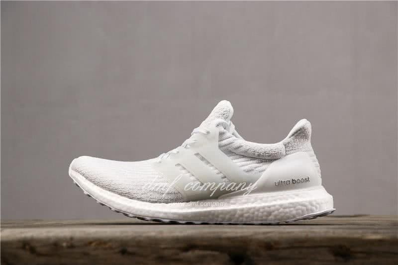Adidas Ultra Boost 3.0 Men Women White Shoes 2